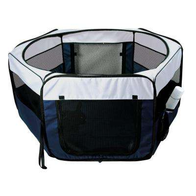 51 in. L x 51 in. W x 21.5 in. H Medium Soft Sided Nylon Mobile Play Pen