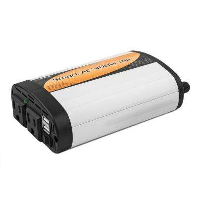 Slim Line 400-Watt/1,000-Watt Inverter with USB