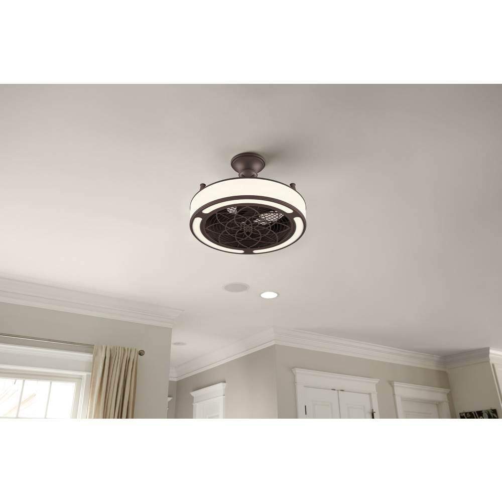 A8102 A C Ceiling Light: Ceiling Fan Led Light 3 Blade Downrod Mount Indoor Outdoor