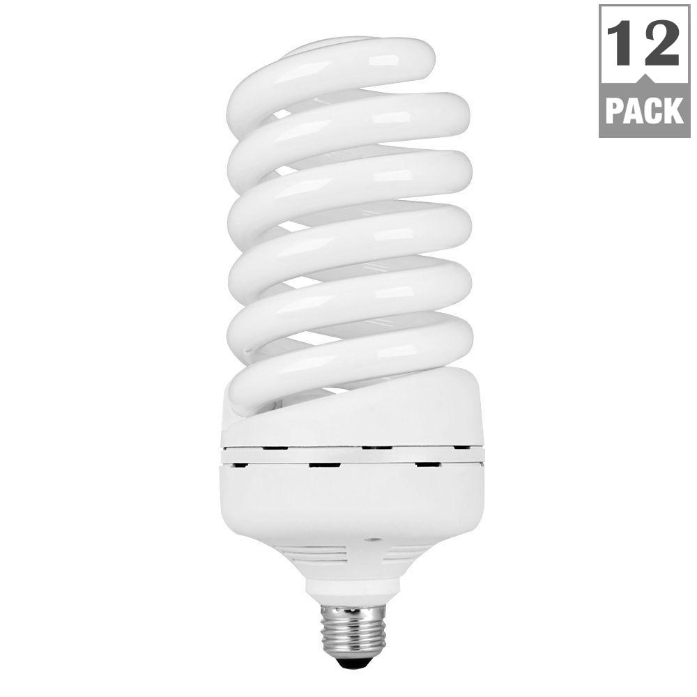 Feit Electric 300-Watt Equivalent Daylight Spiral E26 CFL Light Bulb (Case of 12)