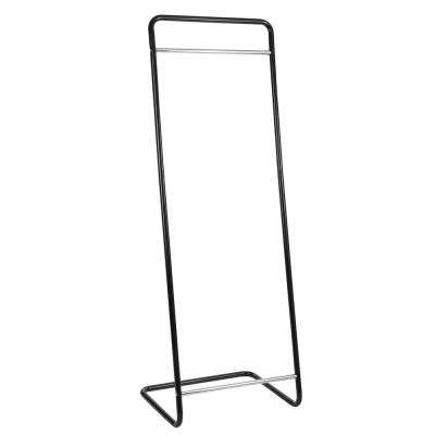 Lucas Cantilever 23.6 in. W x 59.8 in. H Black/Chrome Garment Rack