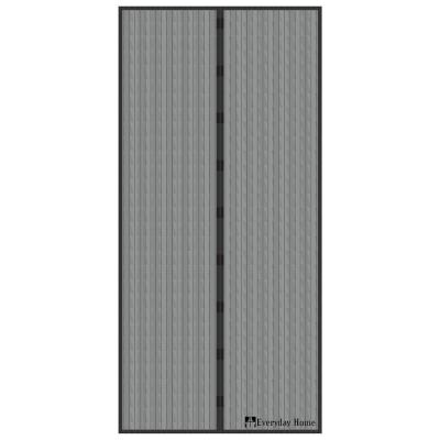 38 in. x 80 in. Magnetic Screen Door with Heavy Duty Magnets and Mesh Curtain