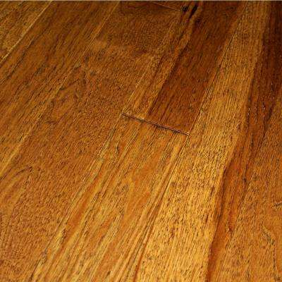 Wire Brushed Cane Hickory 3/4 in. Thick x 2-1/4 in. Wide x Random Length Solid Hardwood Flooring (20.5 sq. ft. / case)