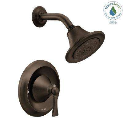 Wynford Single-Handle 1-Spray Posi-Temp Shower Faucet in Oil Rubbed Bronze (Valve Not Included)