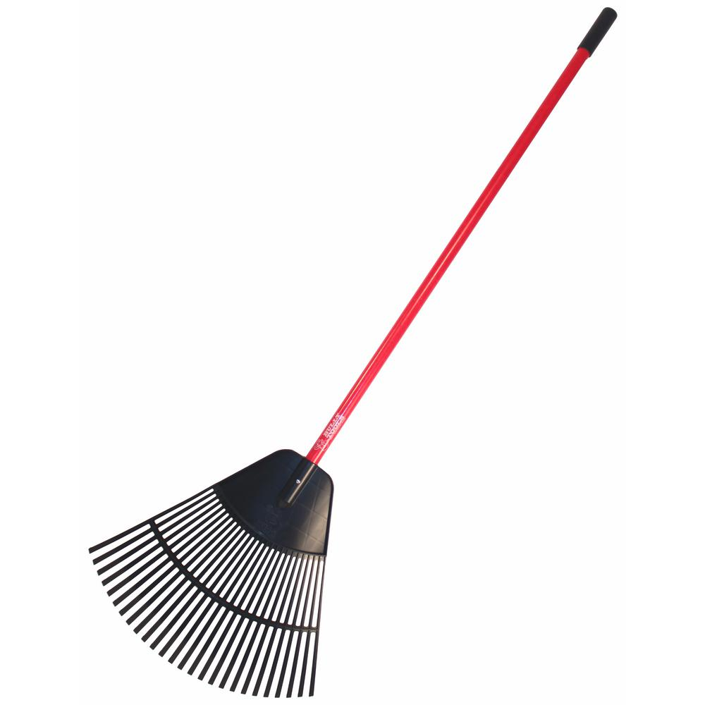 24 in. Poly Lawn and Leaf Rake
