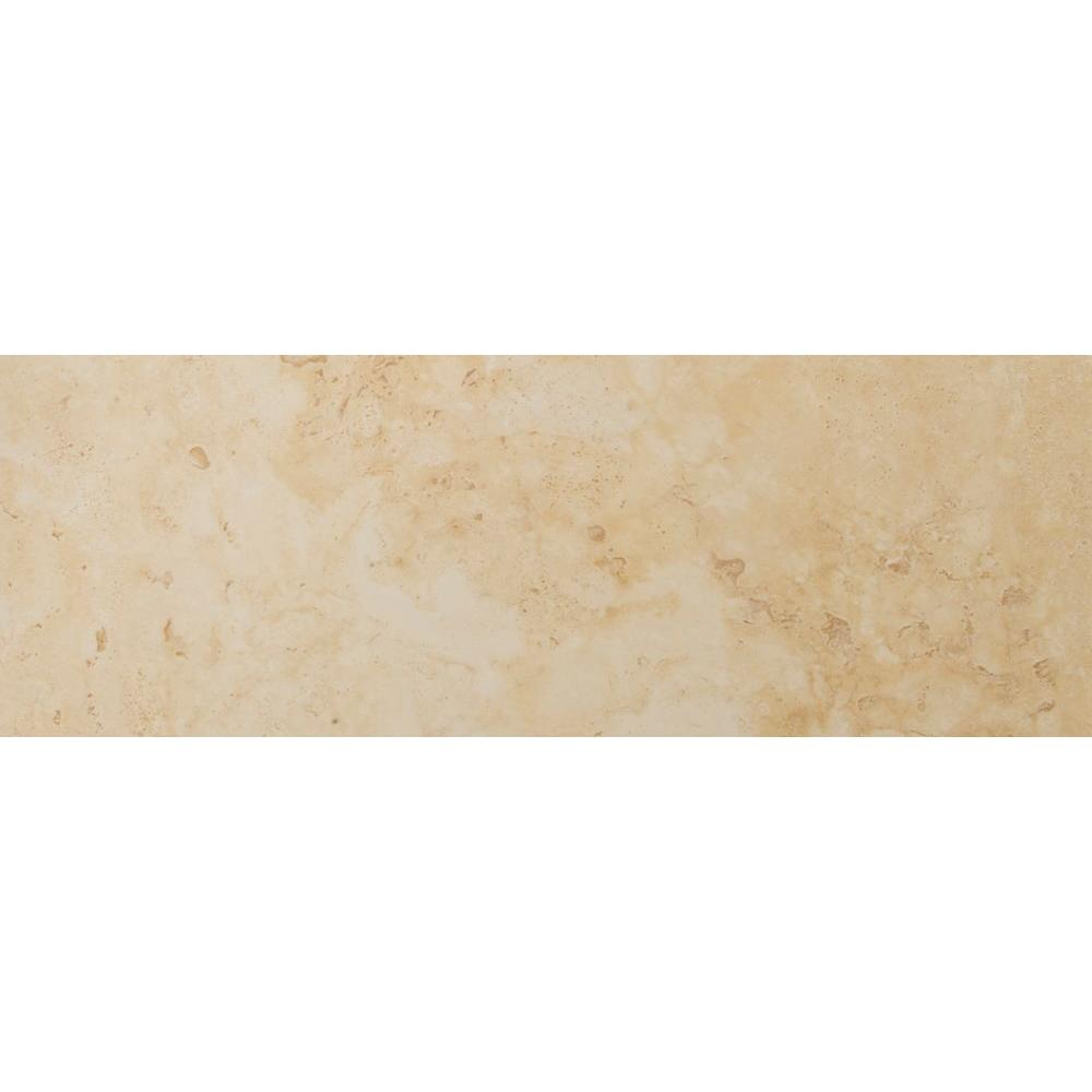 Emser Lucerne Grassen 3 in. x 13 in. Single Bullnose Porcelain Floor and Wall Tile