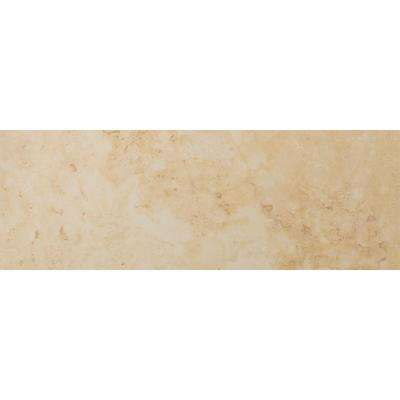 Lucerne Grassen 3 in. x 13 in. Single Bullnose Porcelain Floor and Wall Tile