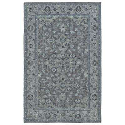 Relic Grey 9 ft. x 12 ft. Area Rug