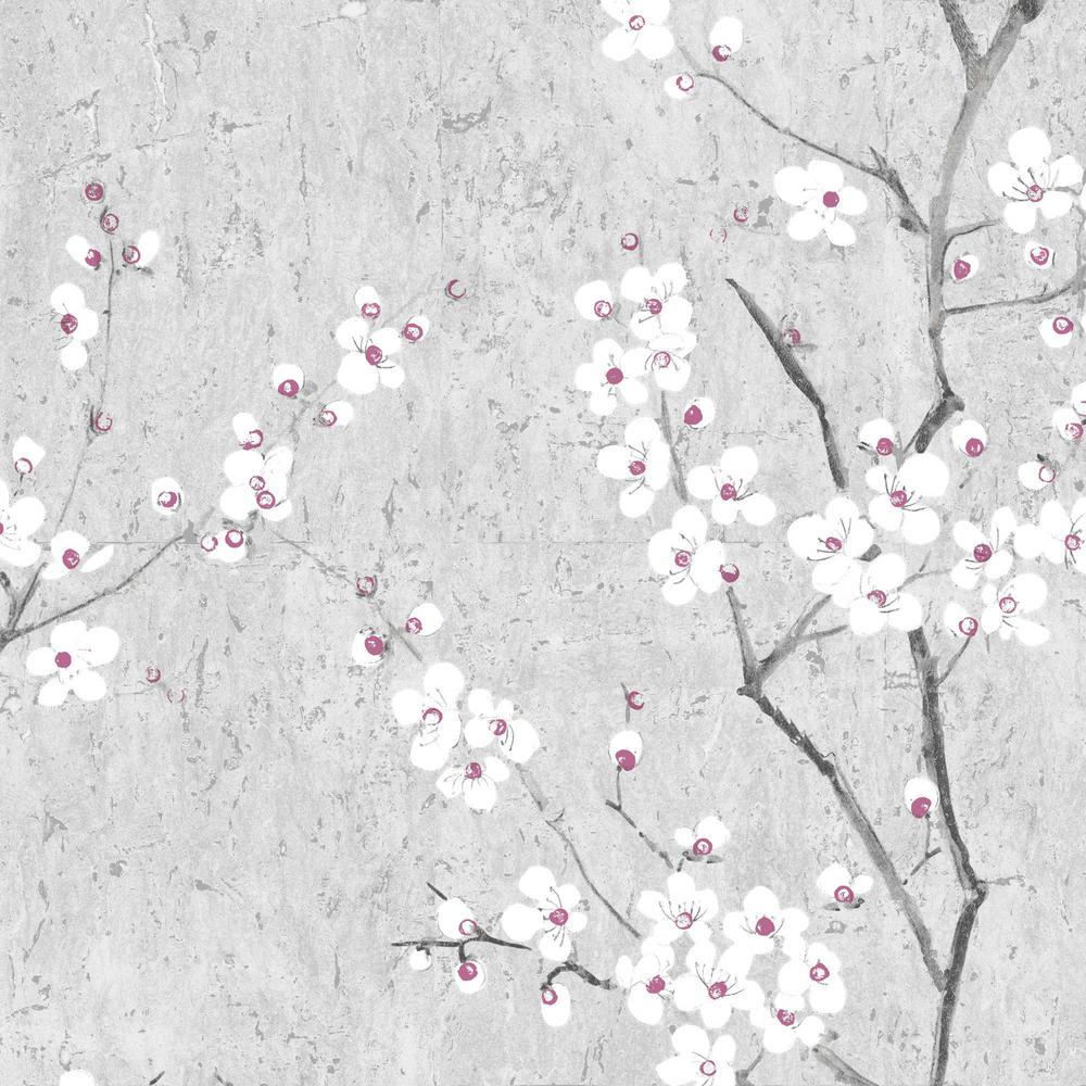 Graham Amp Brown Kyoto Sakura Soft Gray White Pink