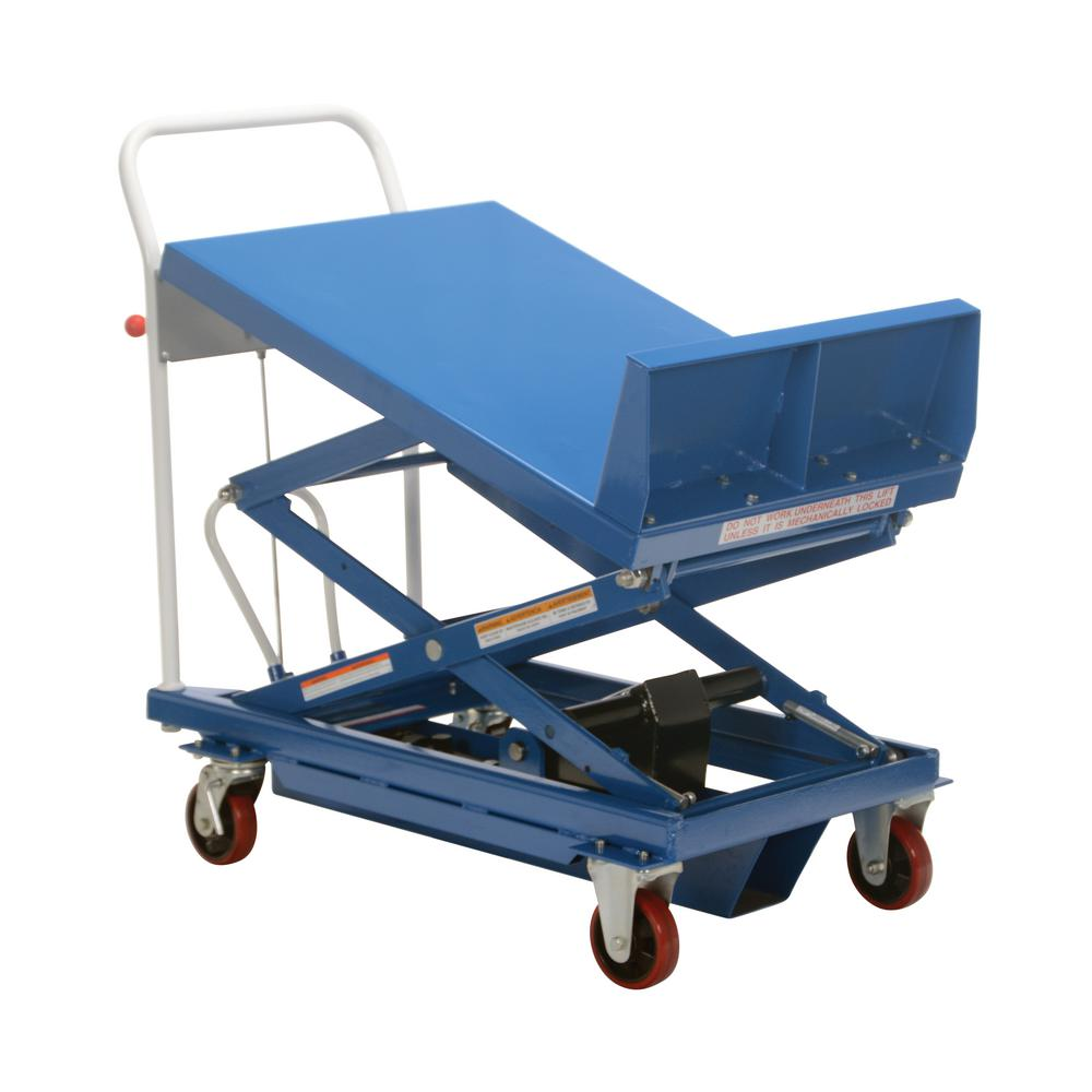 Vestil 600 lb. Capacity Lift and Tilt Cart with Sequence ...