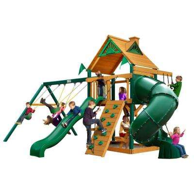 Mountaineer with Timber Shield Cedar Playset