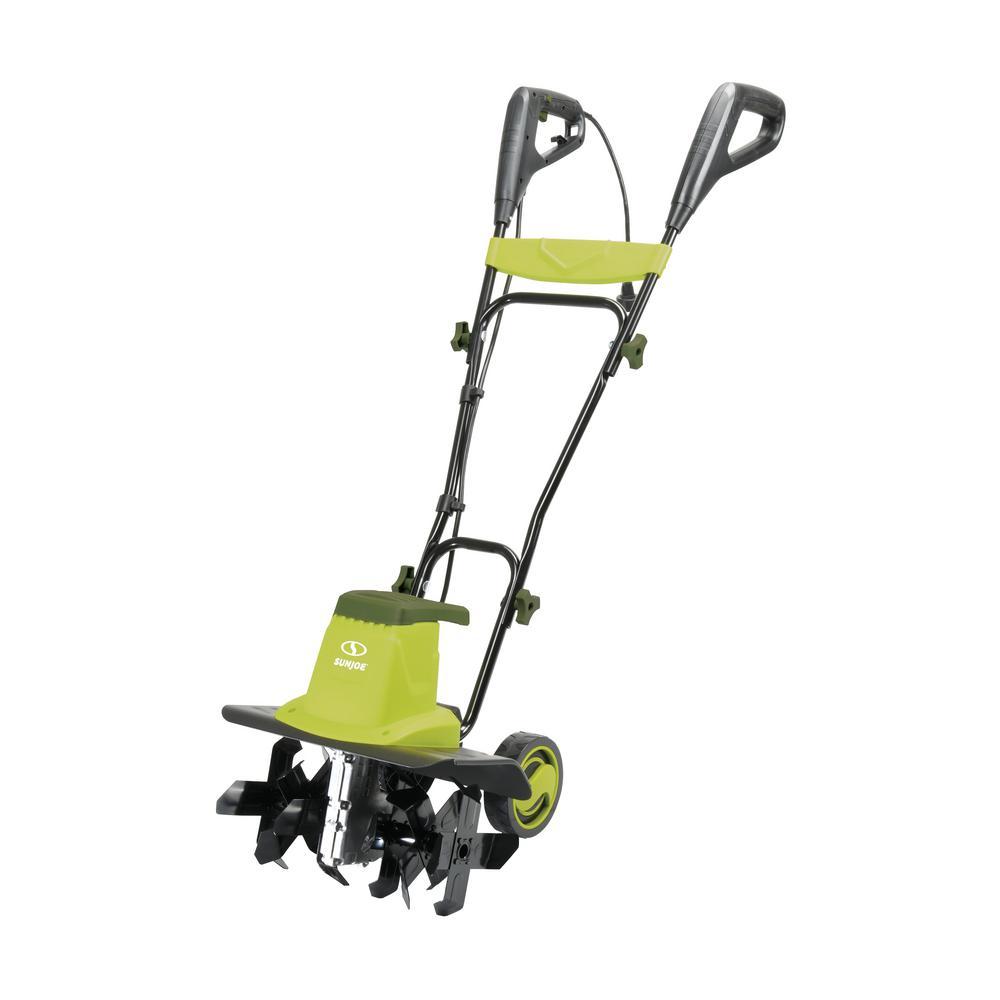 16 in. 12 Amp Electric Garden Tiller/Cultivator