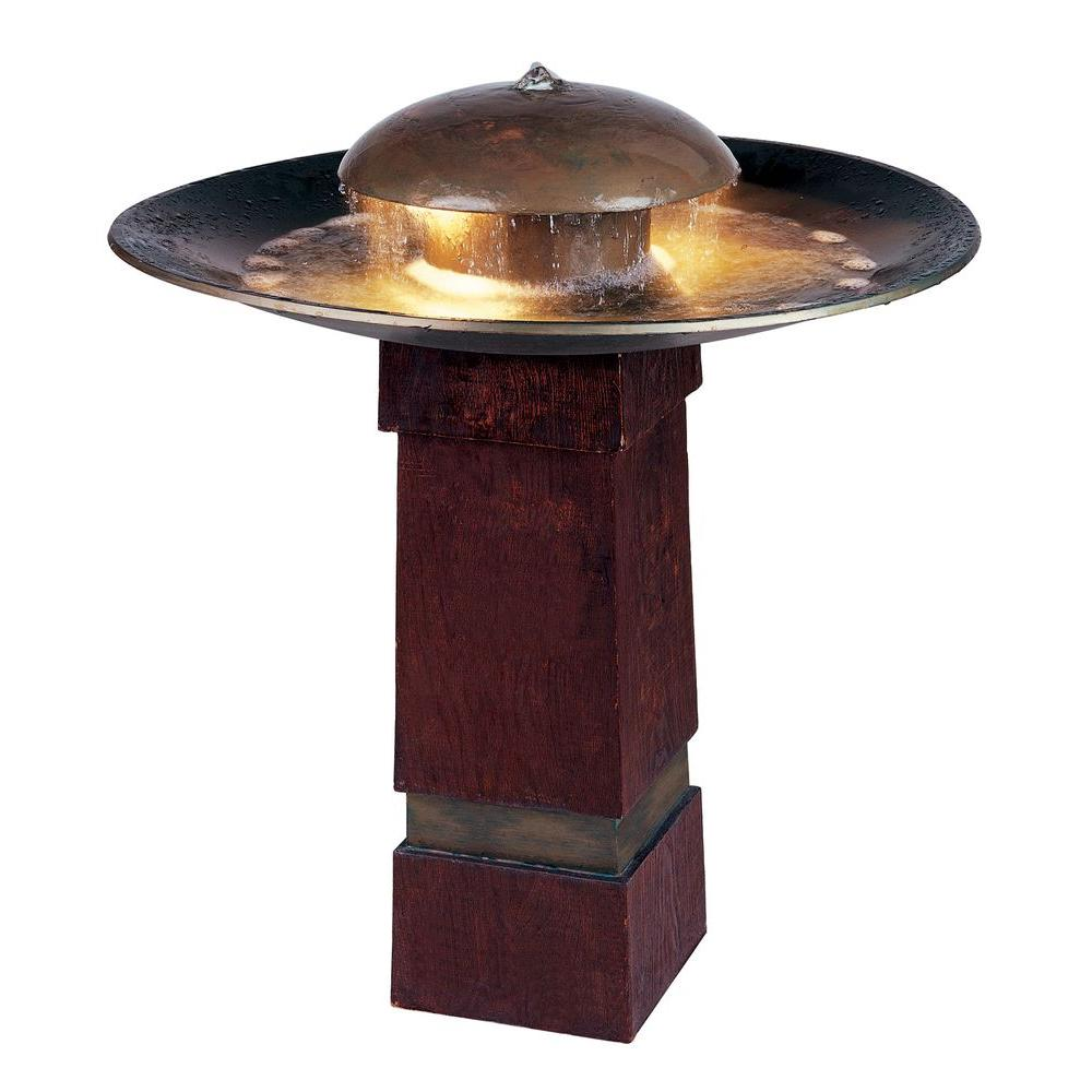 Kenroy Home Portland Sound Lighted Outdoor Fountain