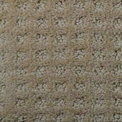 Carpet sample jewels color hollywood pattern 8 in x 8 in