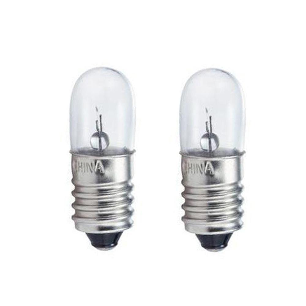 1.5-Watt T3 Incandescent Flashlight Light Bulb (2-Pack)