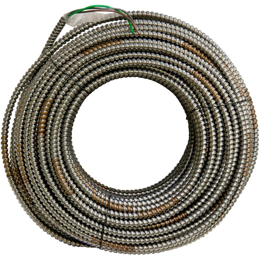 10 - 2 - Armored Cable - Wire - The Home Depot