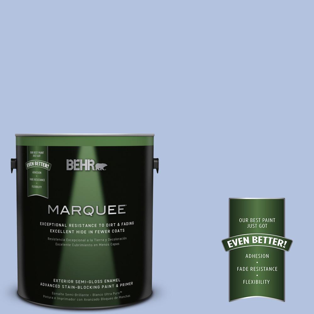 1-gal. #M540-3 Eternal Elegance Semi-Gloss Enamel Exterior Paint