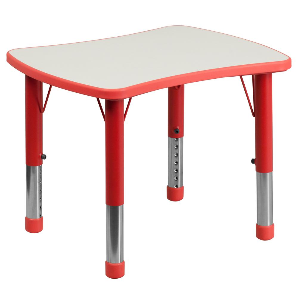 Red Kids Table