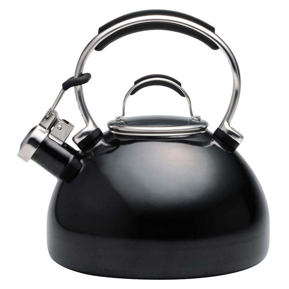 KitchenAid Gourmet Essentials 8-Cup Tea Kettle in Black-DISCONTINUED