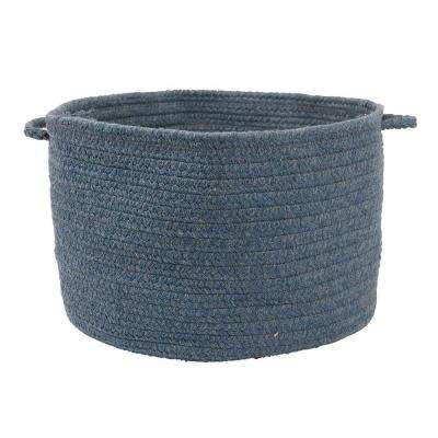 Bristol Federal Blue 18 in. x 12 in. Utility Basket