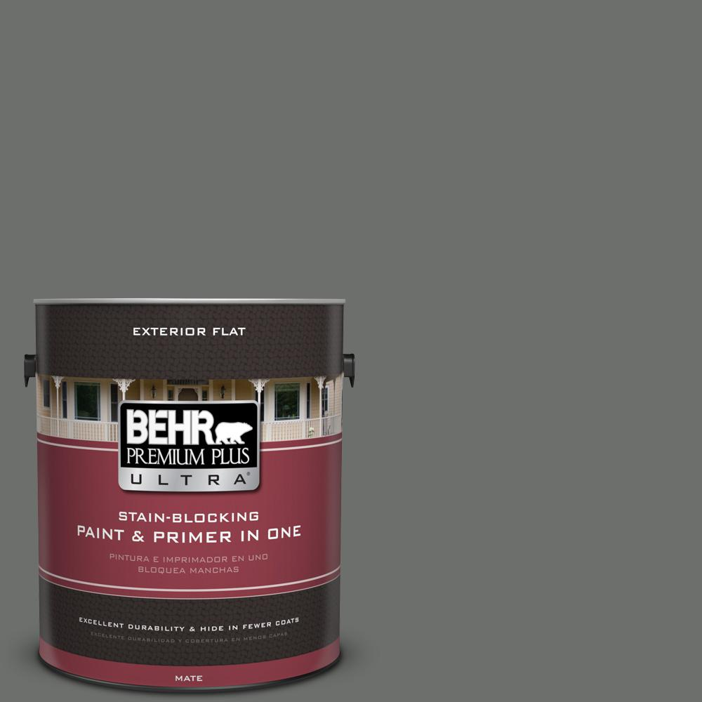 1 gal. #PPU24-05 Ancestral Flat Exterior Paint