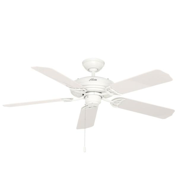 Sea Air 52 in. Indoor/Outdoor White Ceiling Fan