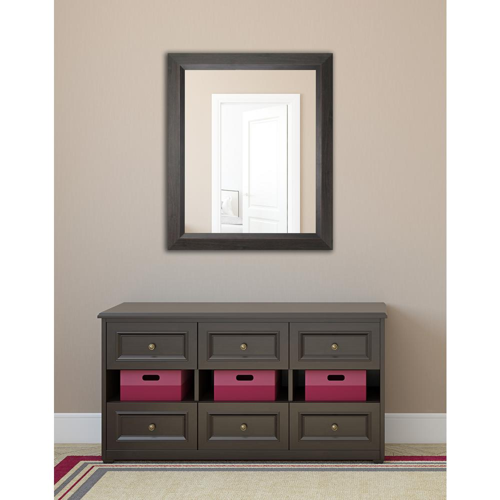 36 x 42 mirror rayne mirrors 4825 in 3625 dark walnut non bevel 36 42 framed mirror compare prices at nextag