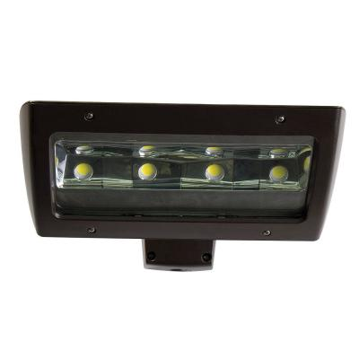 Commercial-Grade 650-Watt Equivalent Integrated Outdoor LED Wall Pack, 10000 Lumens, Dusk to Dawn Outdoor Security Light