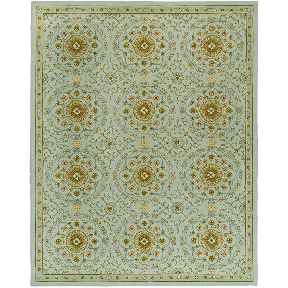 Safavieh Chelsea Teal/Green 5 Ft. 3 In. X 8 Ft. 3 In. Area