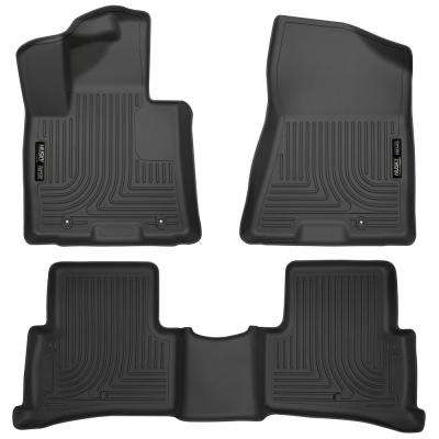 Front & 2nd Seat Floor Liners Fits 17-17 Sportage