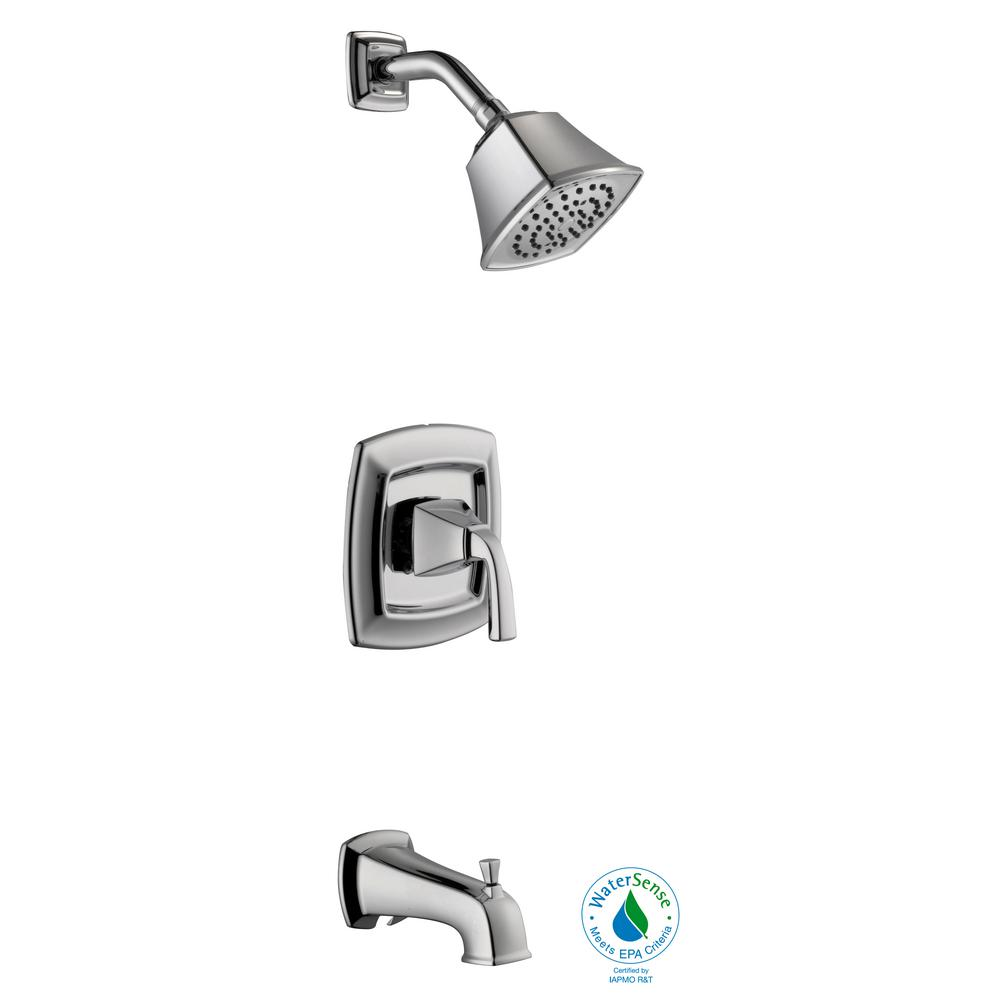 Mason Single-Handle 1-Spray Tub and Shower Faucet in Chrome