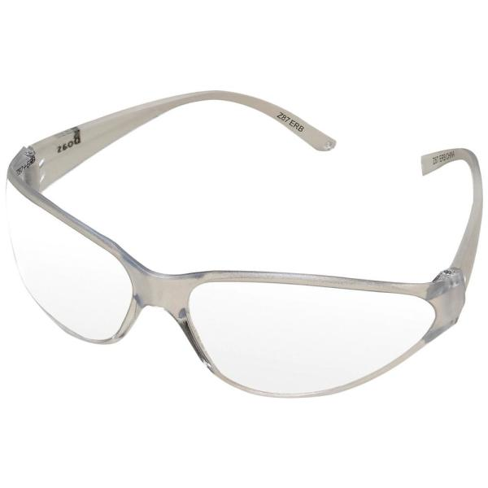 Boas Original Eye Protection Clear/Clear Temple/Frame and Clear Anti-Fog Lens