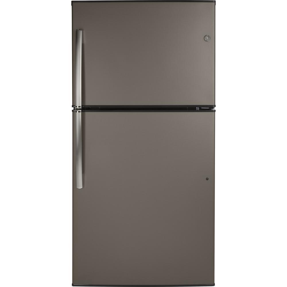 21.1 cu. ft. Top-Freezer Refrigerator in Slate, Fingerprint Resistant and ENERGY STAR