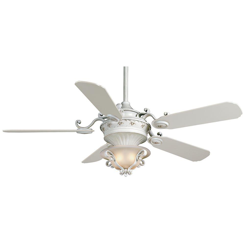 Casablanca La Fleur 56 in. French Creme Ceiling Fan-DISCONTINUED