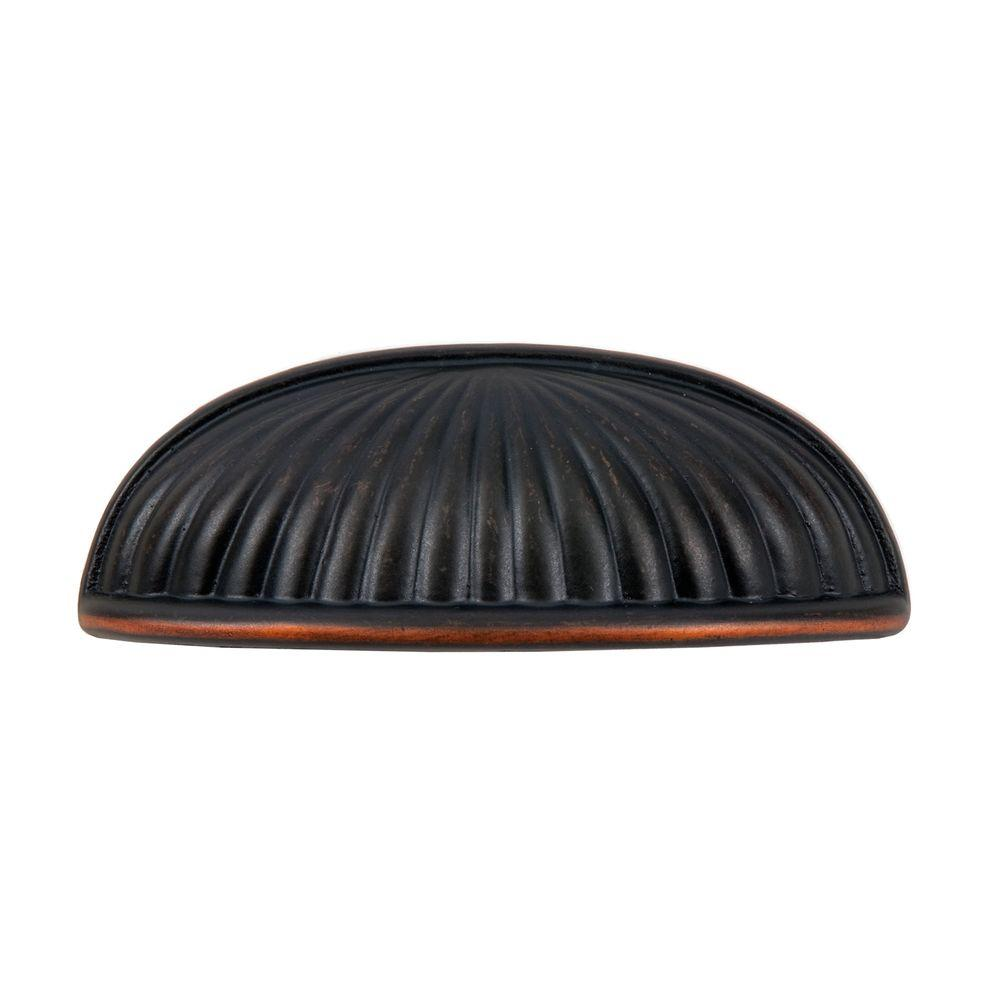 Belmont 3 in. Oil Rubbed Bronze Cup Pull