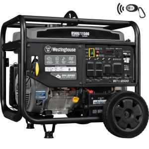 Generac 5,500-Watt Gasoline Powered Portable Generator-5939