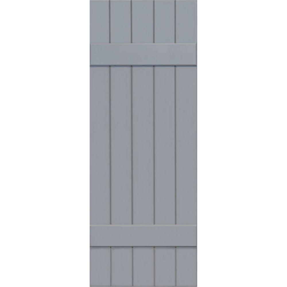Ekena Millwork 18 in. x 52 in. Exterior Composite Wood Bo...