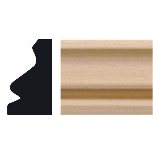 3/4 in. x 1-1/4 in. x 8 ft. Hardwood Shoe Moulding