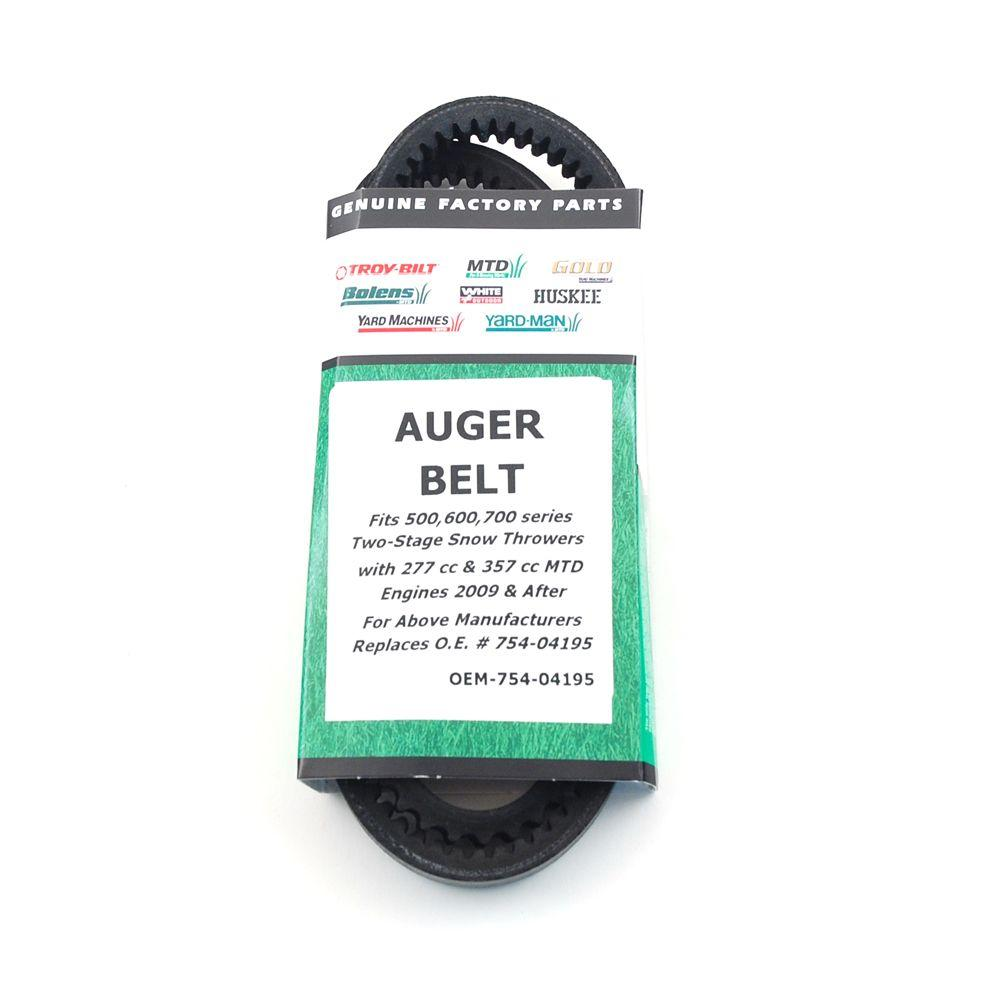 MTD Genuine Factory Parts Auger Belt for 600 Series Snow Blowers