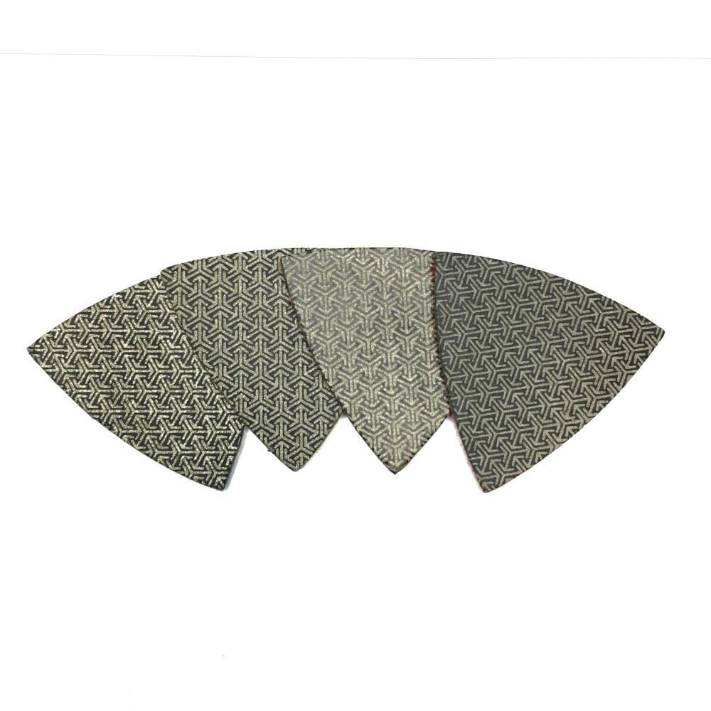 T-REX 3 in  Triangle Shaped Diamond Polishing Pad (Set of 4)