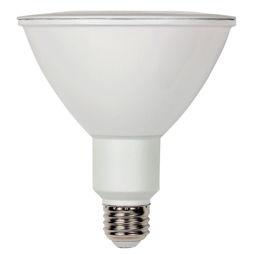 philips 90 watt equivalent bright white 3000k par38 dimmable classic glass led flood light. Black Bedroom Furniture Sets. Home Design Ideas