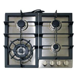 magic chef 24 in 2 2 cu ft single electric wall oven magic chef 24 in gas cooktop in stainless steel 4 burners