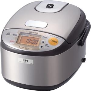 Zojirushi Induction Heating System Rice Cooker and Warmer 3 Cup Stainless Dark... by Zojirushi