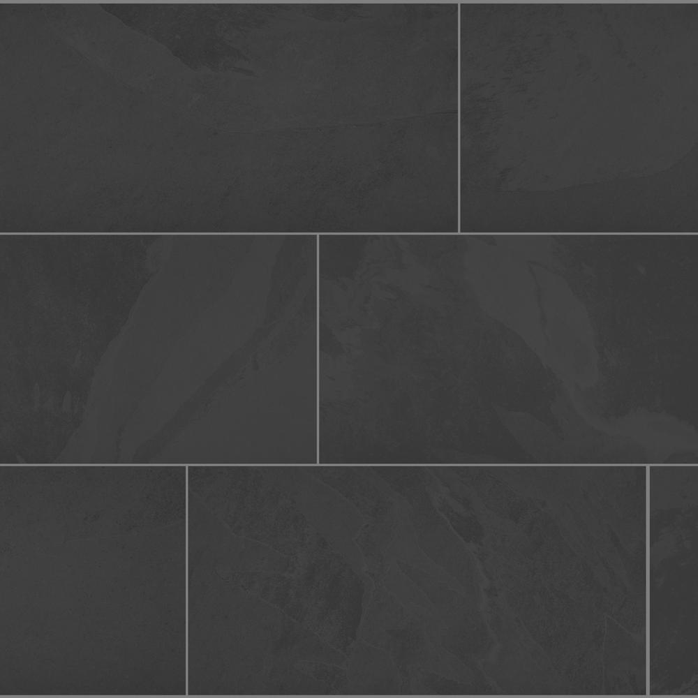 Florida Tile Home Collection Galactic Slate 12 in. x 24 in. Porcelain Floor and Wall Tile (435.84 sq. ft. / pallet)