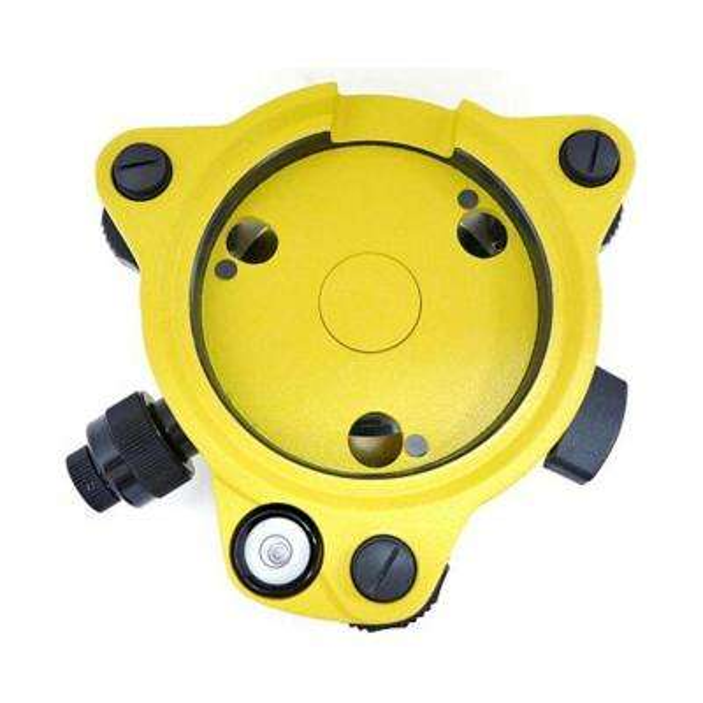 Twist Focus Yellow Tribrach with Optical Plummet