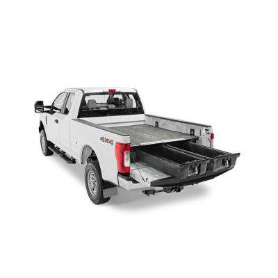 6 ft. 6 in. Bed Length Pick Up Truck Storage System for Ford F150 Aluminum (2015 - Current)