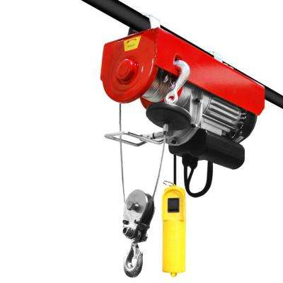 880 lbs. Professional Electric Steel Cable Hoist with Remote Control
