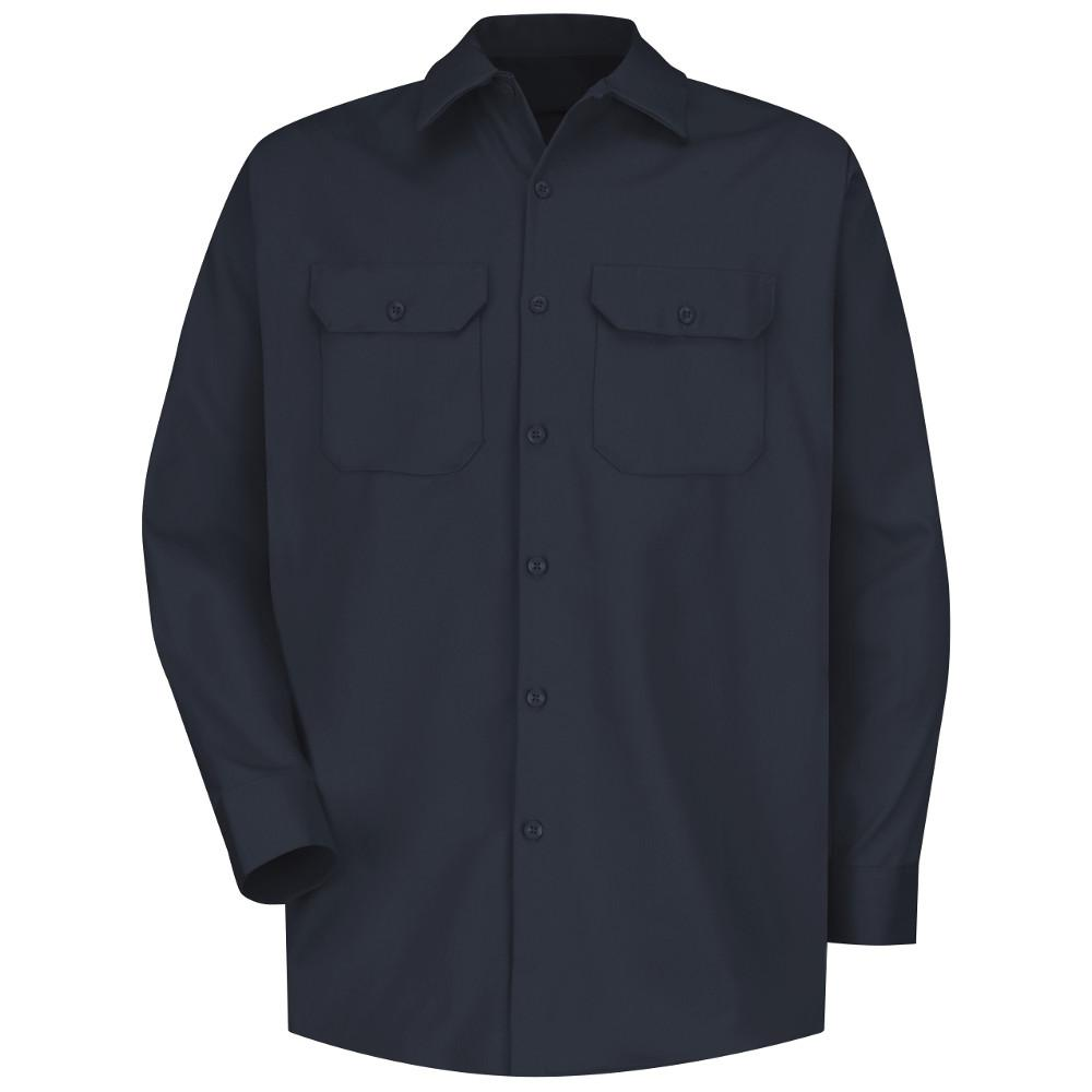Red Kap Uniforms Men's Small Dark Navy Deluxe Heavyweight...
