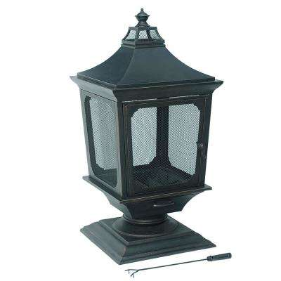 Outdoor 48 in. Steel Fireplace