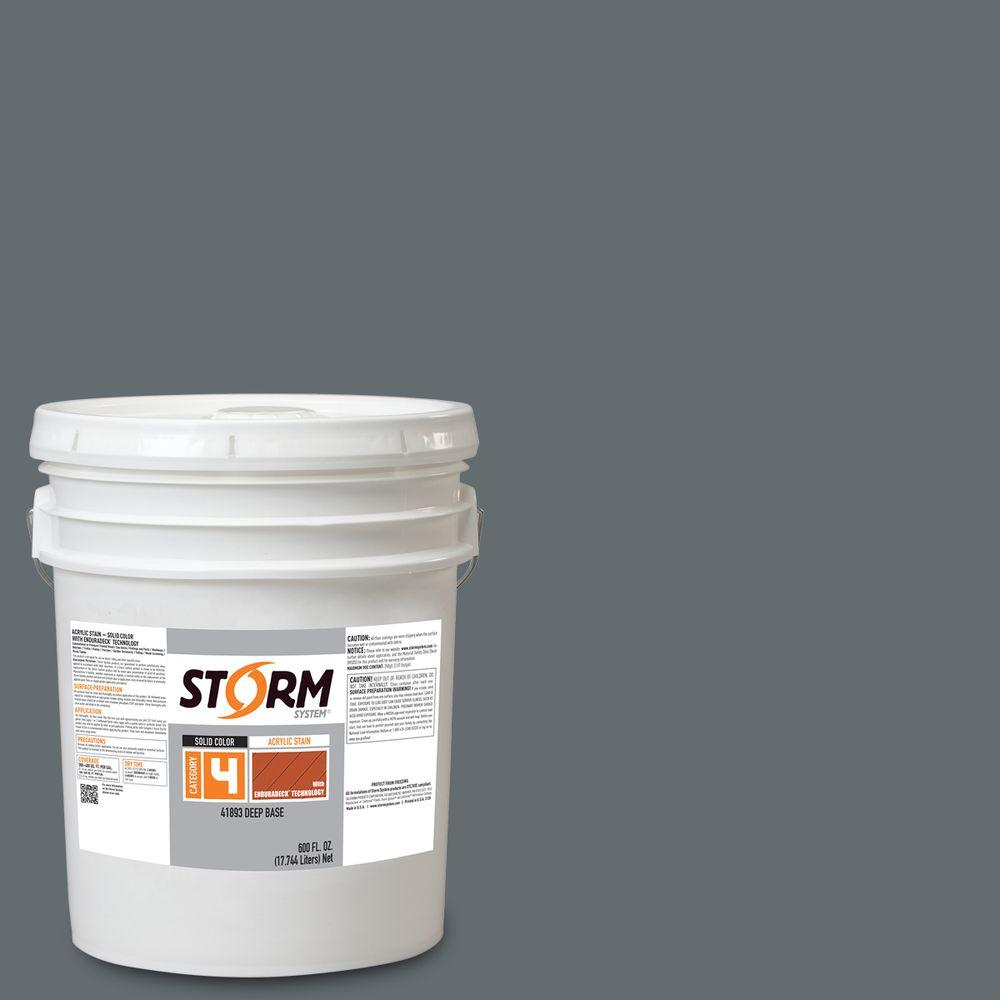 Storm System Category 4 5 Gal Gray Flannel Suit Exterior